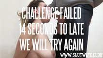 [Blow'n'Gag] No-Break blowjob challenge for Carla Sky: Make me cum in under 1 minute 4
