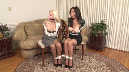 Two Tied Secretaries - Odette and Ashley