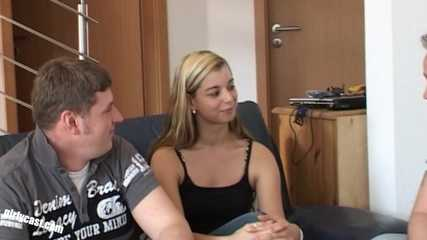 Sweet Teen Melanie - Home Casting