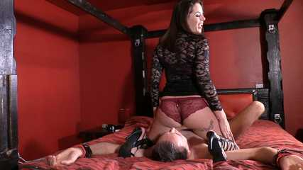 Mistress Tiffany -  Butt Buried Cuckold (Full) HD wmv