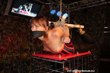A very special new Hogtie Variation for Yvette