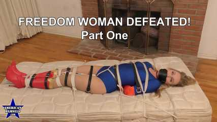 Freedom Woman Defeated! - Part One - Riley Reyes