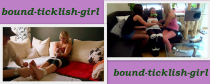 bound ticklish girl