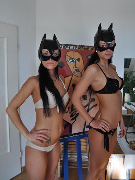 Big cat sisters