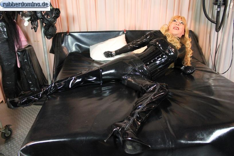 Big black rubber