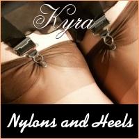 Nylons en Heels Kyra