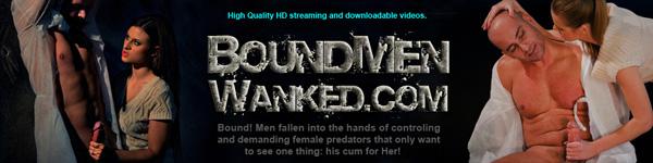 Bound Men Wanked