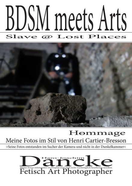 z Photobook BDSM meets Arts - Slave @ Lost Places