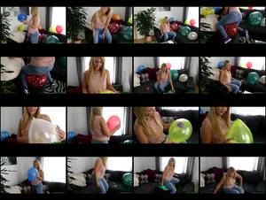 Hol 285 tatja  sitpopping promotional balloons on the couch medium