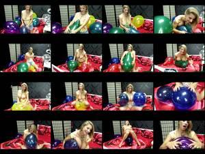 Hol 314 khart  sensual and busty balloon popping medium